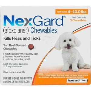 Nexgard 4-10lb 6 pack